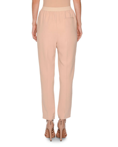 Cropped Sport Crepe Pants