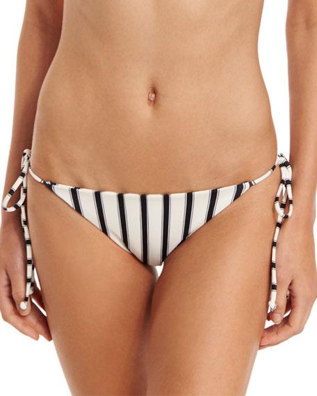 Tori Praver Swimwear Sunday Stripes Allegra Tie-Side Swim