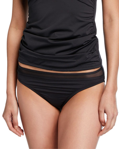 Tommy Bahama Mesh Solids Swim Top & Bottom