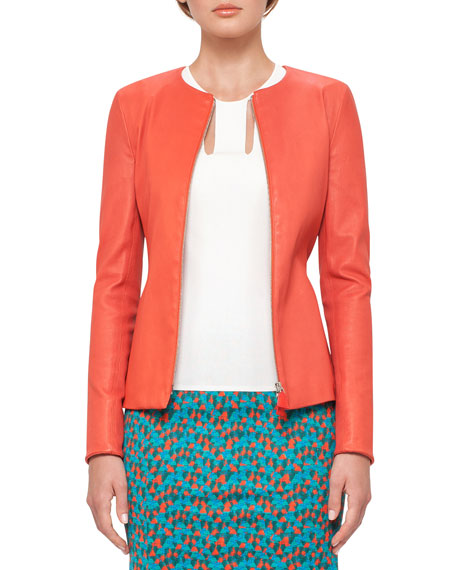 Akris Ai-Print Pencil Skirt, Multi and Matching Items