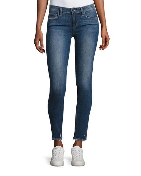 Paige Verdugo Ankle Skinny Jeans, Nash