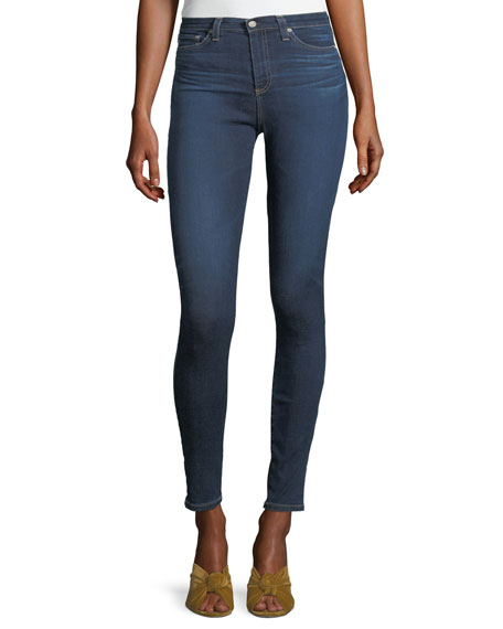AG Mila High-Waist Skinny Jeans