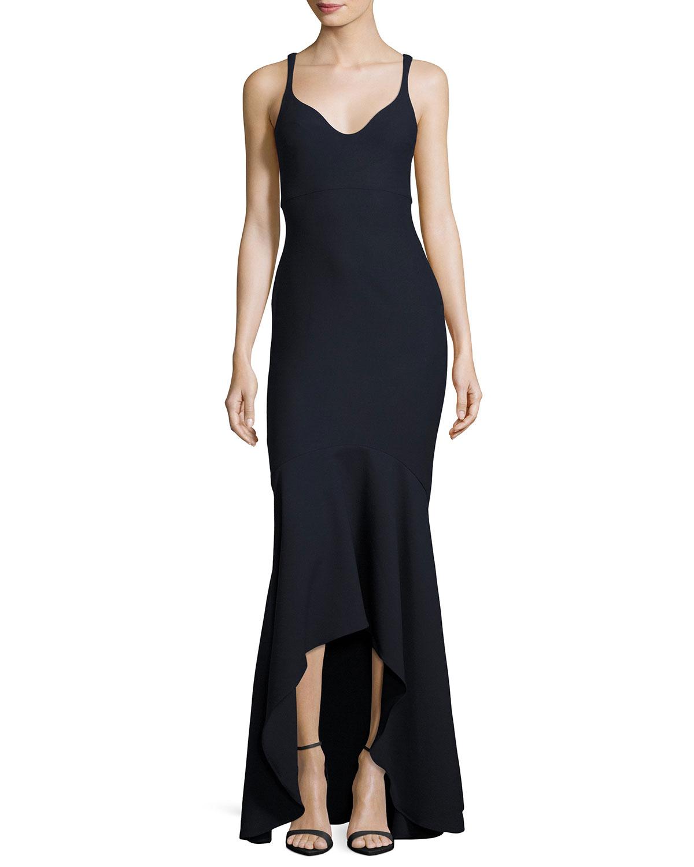 9bddb65b851 cinq a sept Sade Sleeveless Mermaid Gown