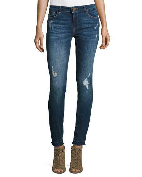 DL 1961 Florence Instasculpt Skinny Jeans, Strive
