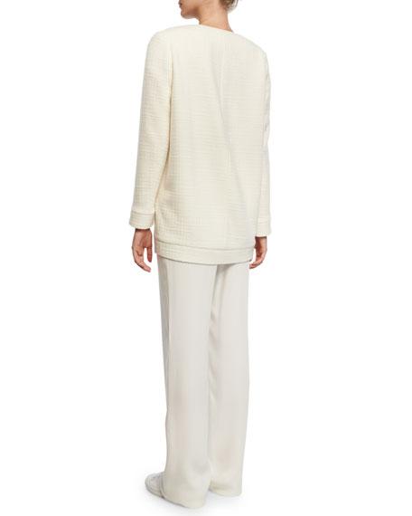 Giubbotto Byrne Long Island Jacket, White