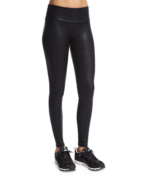 Onzie Embossed Long Sport Leggings