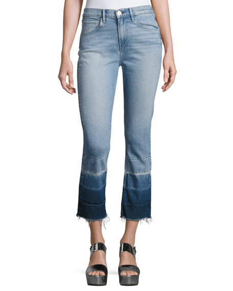 Wide Range Of Cheap Price W4 Shelter High-Rise Cropped Jeans 3x1 Discount Factory Outlet Discount 100% Original YwOytBT