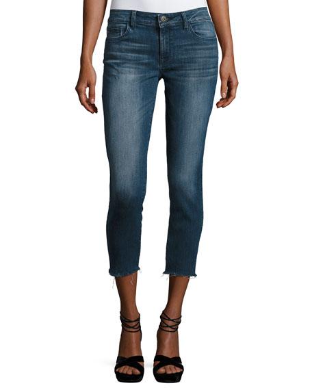 DL1961 Premium Denim Florence Instasculpt Cropped Skinny Jeans,