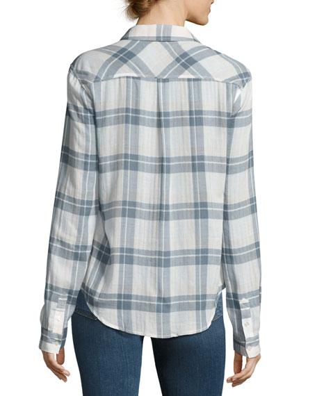 Mya Plaid Pocket Shirt, Pristine