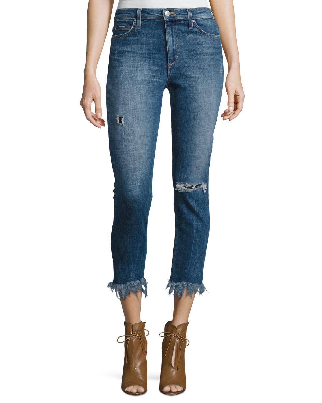b3ce65b00a3e Joe s Jeans The Charlie High-Rise Cropped Skinny Jeans