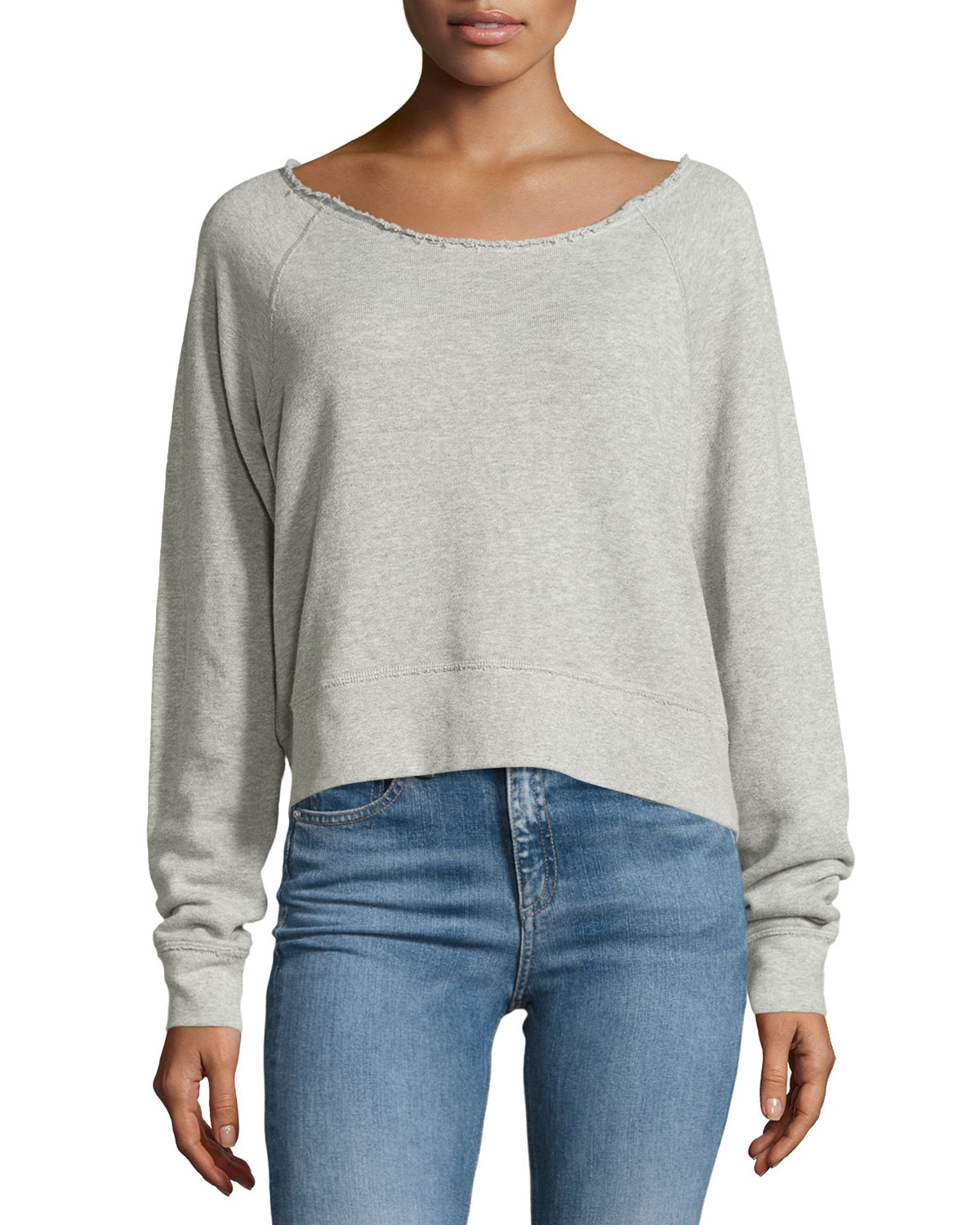 Discount Collections Clearance Reliable Rag & Bone raw neck sweatshirt Recommend Discount Discount Order D11MLjTHw