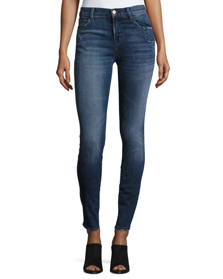 J Brand 620 Mid-Rise Super-Skinny Jeans, Gone