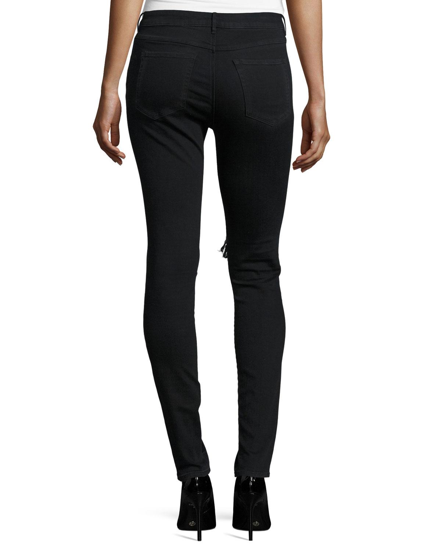 distressed skinny jeans - Black 3x1 sQMwgVg9