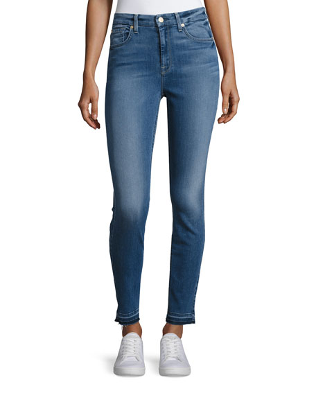 7 For All Mankind The High-Waist Ankle Skinny