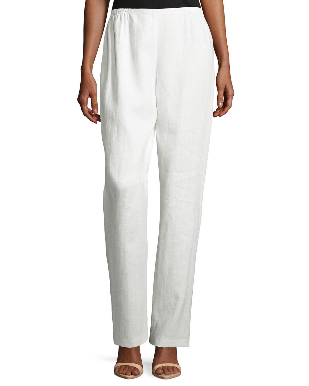 Womens petite linen pants — 2
