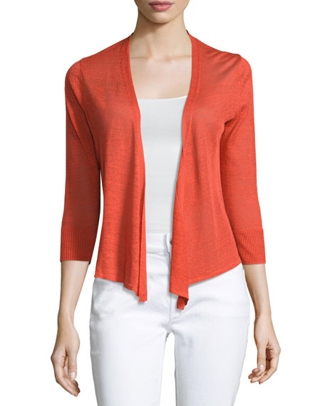 NIC+ZOE 4-Way 3/4-Sleeve Cardigan, Plus Size