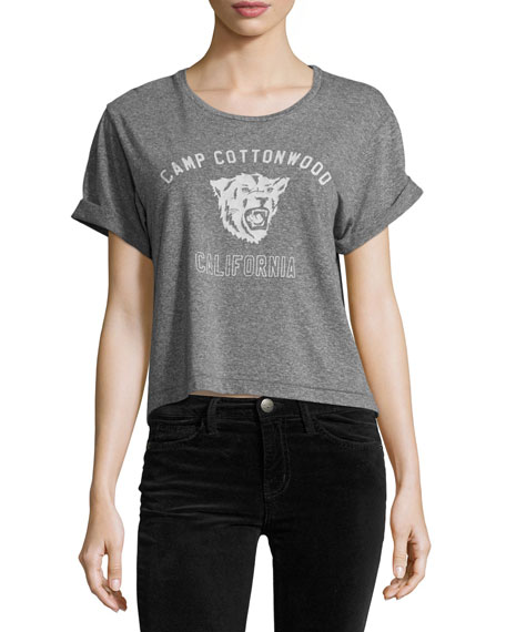Current/Elliott The Camp Cottonwood Sailor Tee, Heather Gray