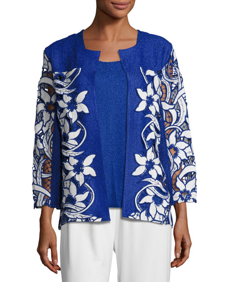 Lazer Affair Crinkle Jacket, Plus Size