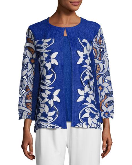 Berek Lazer Affair Crinkle Jacket, Plus Size and