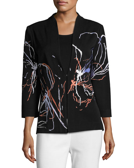 Fireworks Embroidered Jacket