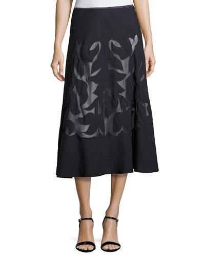 Secret Garden Skirt, Midnight