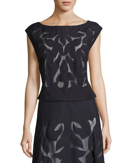 NIC+ZOE Secret Garden Skirt, Midnight, Plus Size and