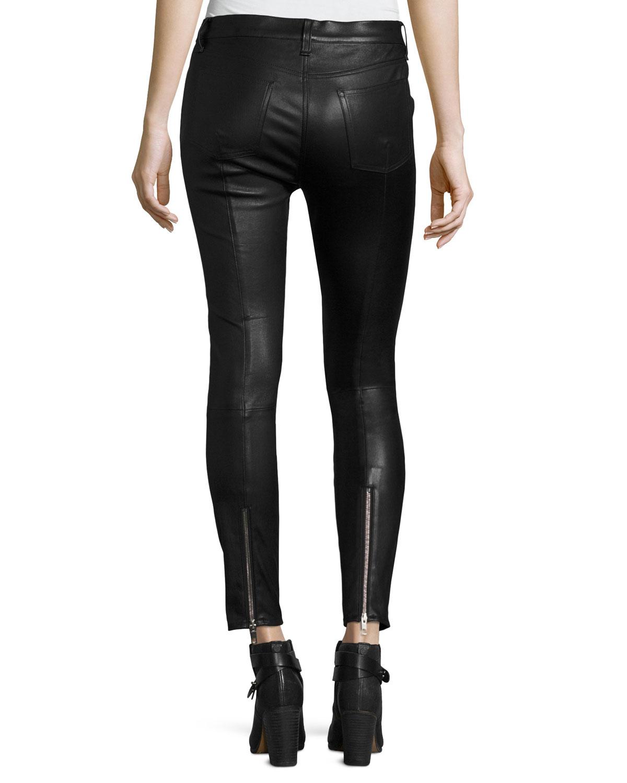 Leather Lace Skinny Black - 25%2c Schwarz Rag & Bone nu77Ldu