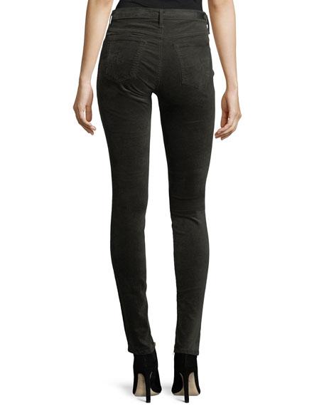 The Legging Velvet Skinny Jeans