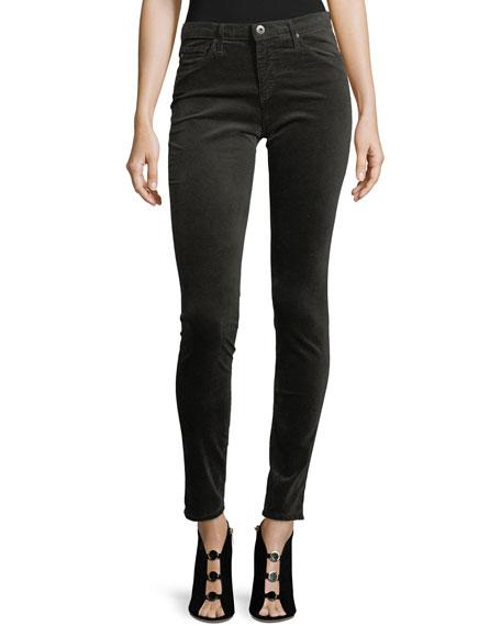 AG The Legging Velvet Skinny Jeans