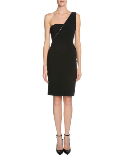 One-Shoulder Sheath Dress