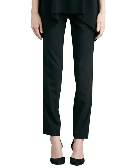 Vince Relaxed Stretch-Wool Trousers