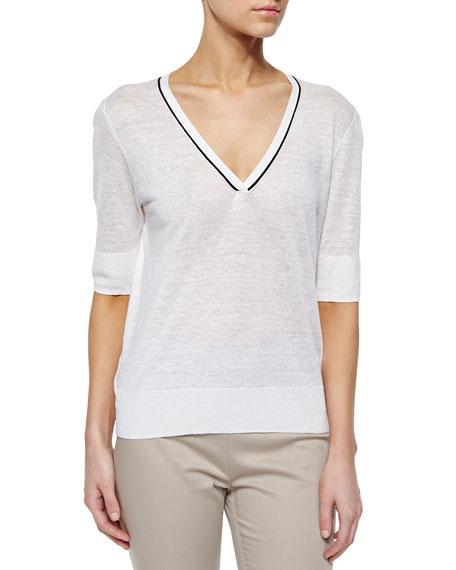Theory Naoleeray Sag Harbor Sweater