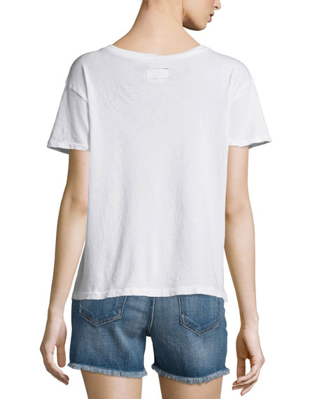 The Freshman Short-Sleeve Tee, Sugar Flying Dove