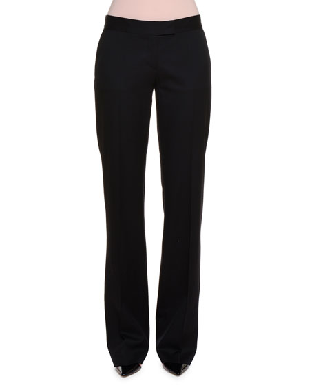Stella McCartney Classic Tailored Suit Pants, Black
