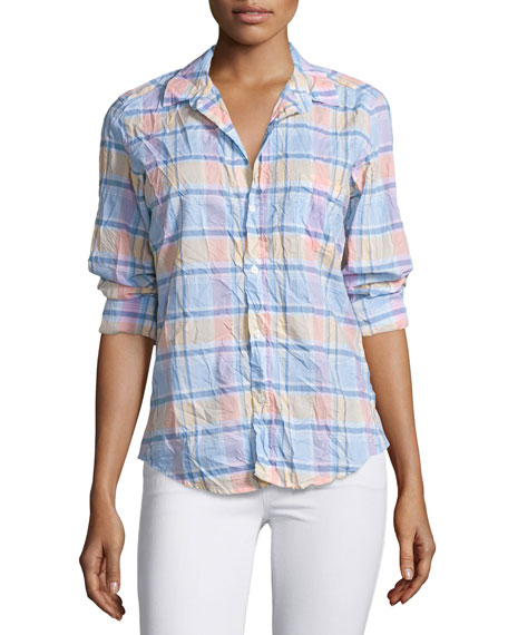Frank & Eileen Barry Long-Sleeve Plaid Shirt, Multi
