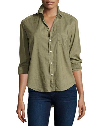 Eileen Button-Front Shirt, Toy Soldier