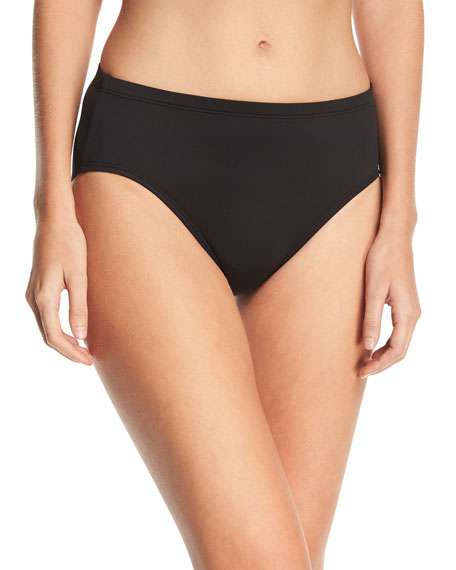 La Blanca High-Waisted Tummy Toner Swim Bottom, Plus