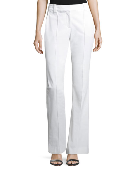 A.L.C. Joseph Boot-Cut Gabardine Pants