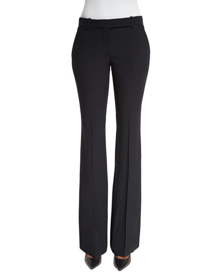 Alexander McQueen Classic Cropped Pants