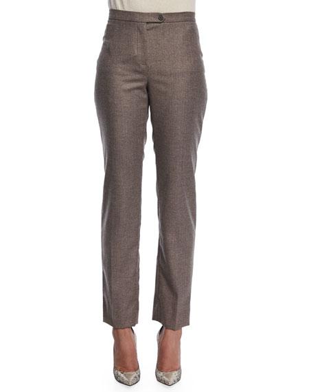 Metallic Hint Trousers