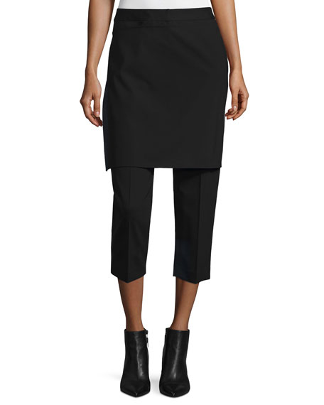 3.1 Phillip Lim Cropped Apron-Front Pants