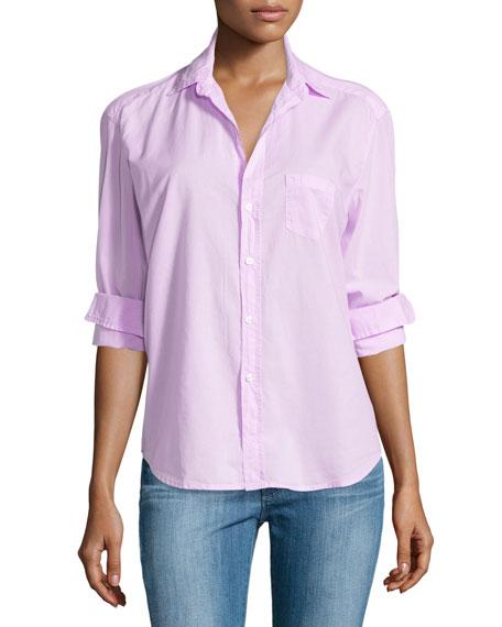 Frank & Eileen Eileen Button-Front Shirt, Pink