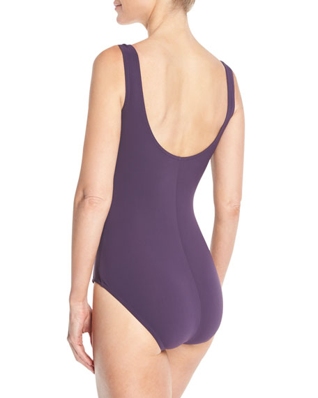 Ruch-Front Underwire One-Piece Swimsuit