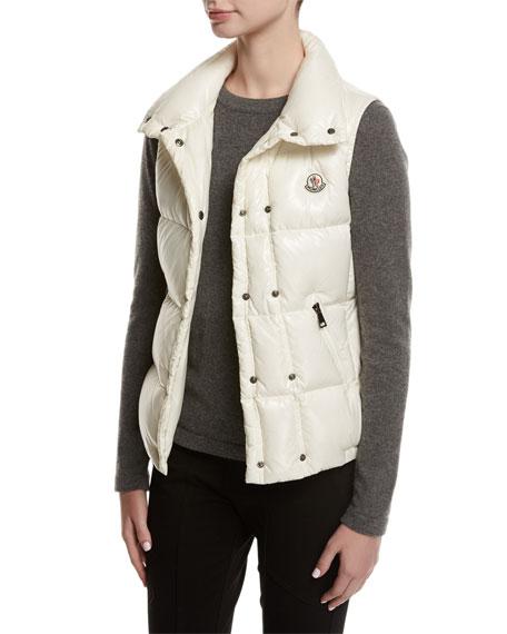 Galene Shiny Hooded Vest