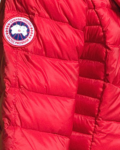 Canada Goose Brookvale Quilted Hoodie Puffer Jacket