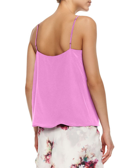 Keyhole-Front Tank, Lilac