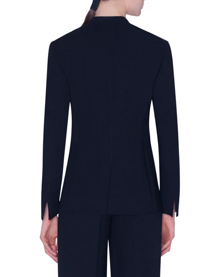 Akris Wool Double-Face Jacket