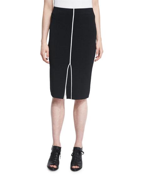 rag & bone/JEAN Lucine Pencil Skirt, Black