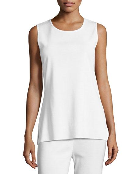 Plus Size Knit Scoop-Neck Tank Top
