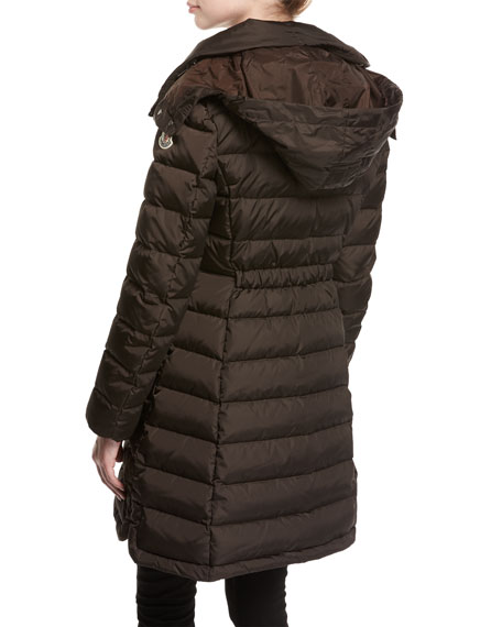 Flammette Puffer Coat w/ Packable Hood